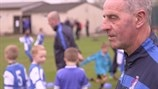 Griffin handed UEFA grassroots accolade