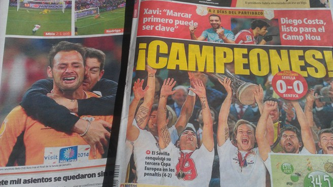 Press reaction: 'Ruthless' Sevilla, 'cursed' Benfica