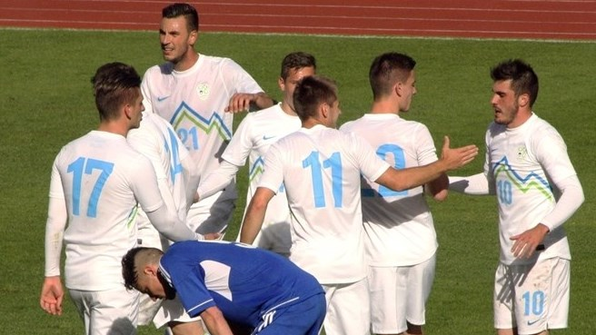 Slovenia stroll to victory in Andorra