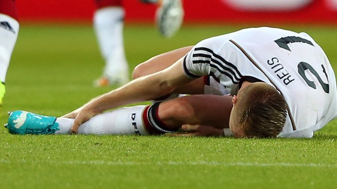 World Cup heartache for Germany's Reus