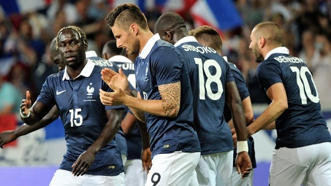Slick France slot eight goals past Jamaica