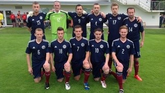 East, West and  Central Scotland prevail in Slovenia