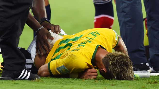 Brazil striker Neymar ruled out of World Cup