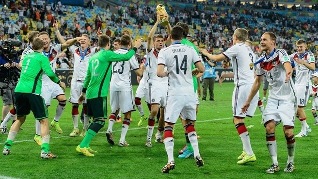 Michel Platini salutes Germany's success