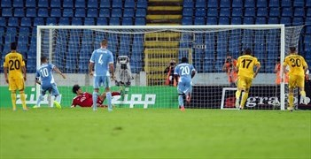 Ten-man Slovan get the better of Sheriff