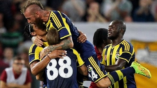 Fenerbahçe beat Galatasaray in Turkish Super Cup