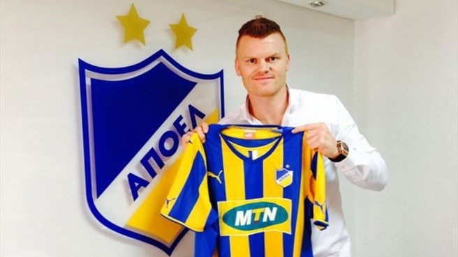 APOEL 'share the same goals' as Riise