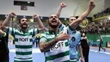 Sporting join Kairat, Barcelona, Dina in finals