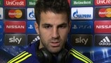 Fàbregas delight at Chelsea win