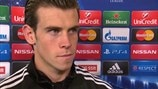 Bale joy at 'professional' Madrid