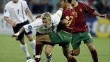 Highlights: 2002 England-Portugal clash