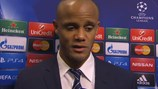 City's Kompany downbeat