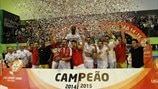 Benfica reclaim futsal title from Sporting