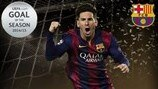 Messi wins inaugural UEFA.com Goal of the Season