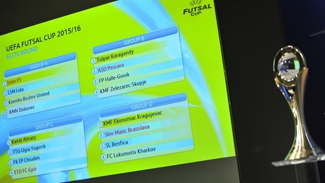 UEFA Futsal Cup elite round draw made