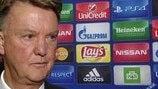 Van Gaal on United's CSKA test