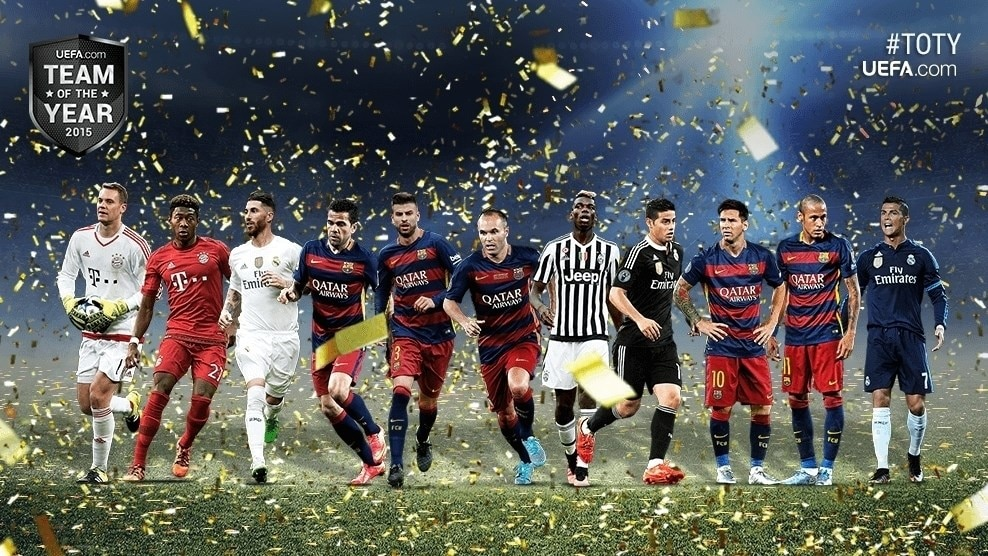 Team of the Year 2015