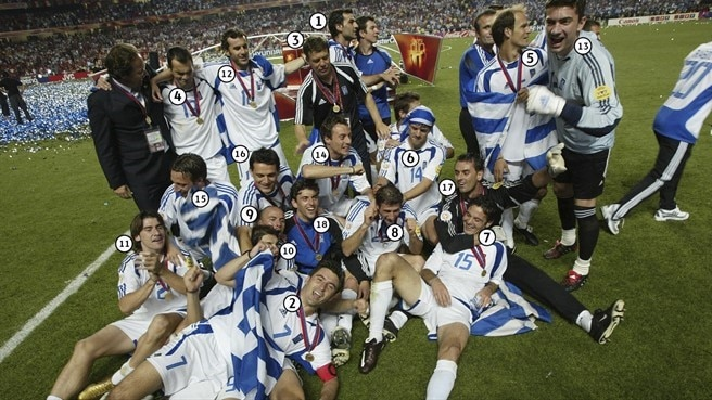 Snap shot: Underdogs Greece have their day