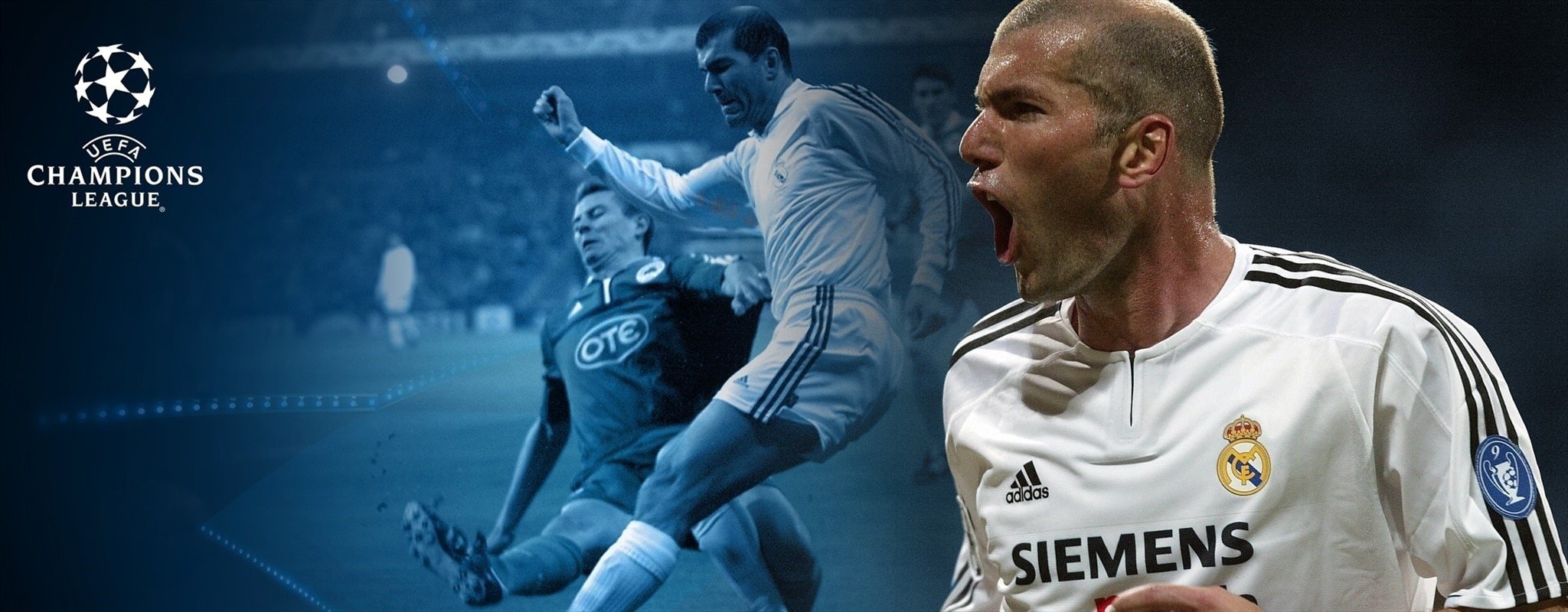 Zidane's UEFA Champions League career at a glance