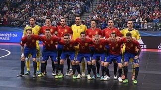 Captain Ortiz on Futsal EURO finalists Spain