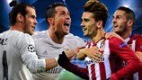 Real Madrid v Atlético: the starting lineups