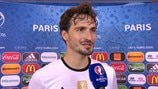 Hummels not completely satisfied