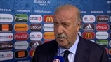 Del Bosque: We must prepare for Italy
