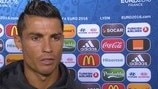 Ronaldo: We were out of EURO three times