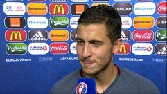 Hazard delight at Belgium display