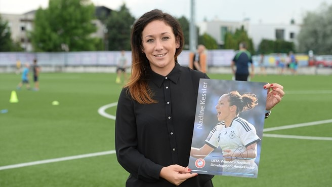UEFA women's football role for Nadine Kessler