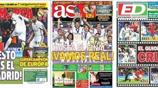 What the papers say about the UEFA Super Cup