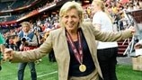 Germany's Silvia Neid looks to sign off with gold