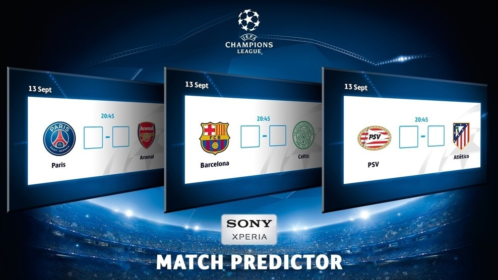 Champions League Predictor: Play and win - UEFA Champions