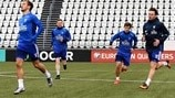 Faroe Islands training