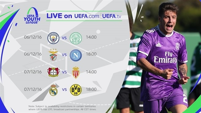 uefa youth league live stream