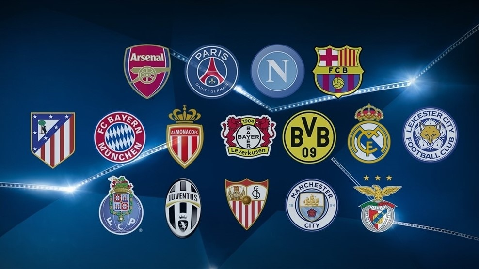 Image result for uefa 1/8 draw