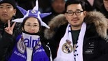 Japanese fans (Real Madrid)