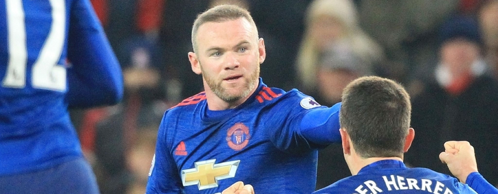 Rooney becomes Manchester United's all-time top scorer