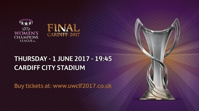 Women's Champions League final tickets on sale