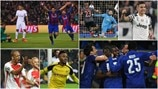 Round of 16 second legs in photos