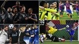 The best photos from the round of 16 second legs
