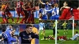 Classic UEFA Champions League quarter-finals