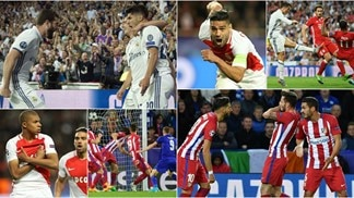Quarter-final second legs in photos