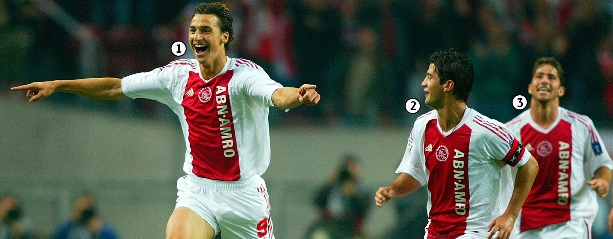 Snap shot: The first time Ajax and Lyon met