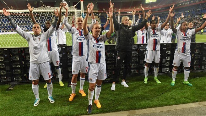 Lyon lose on the night but squeeze past City