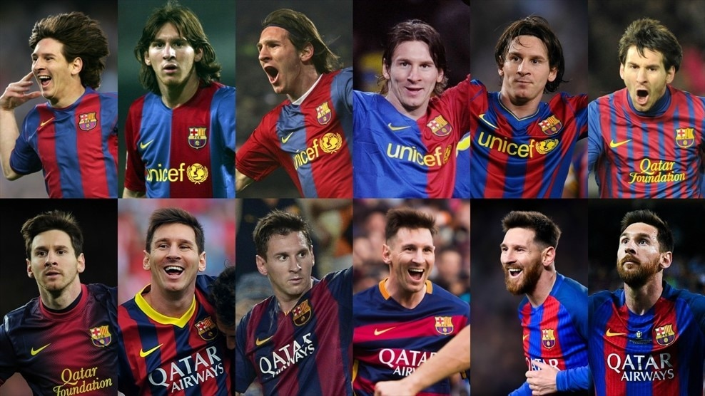 Lionel Messi At 30 His Career In Facts