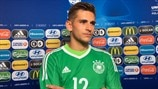 Germany keeper Pollersbeck lost in his own 'movie'