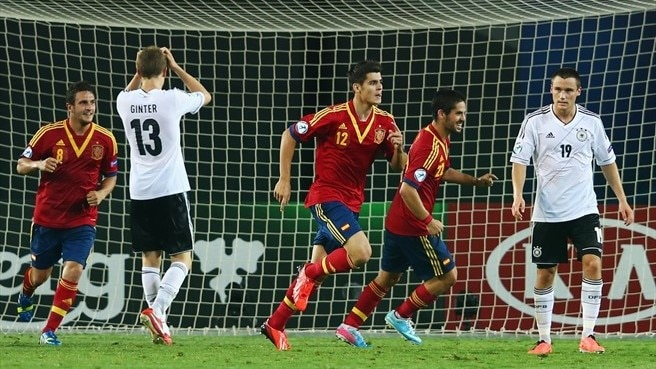 Germany v Spain facts and stats