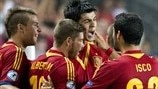 Watch Morata's winner the last time Spain met Germany