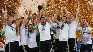 Stindl seals Confederations Cup title for Germany